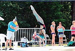 Coaching Diving