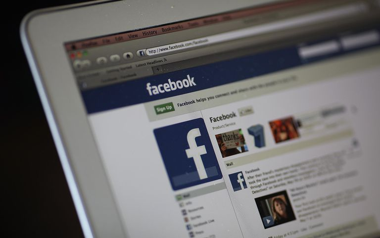 The Facebook website is displayed on a laptop computer on May 9, 2011 in San Anselmo, California.