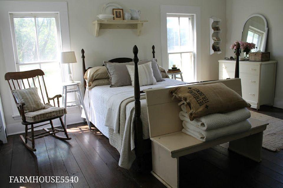 Farmhouse guest room