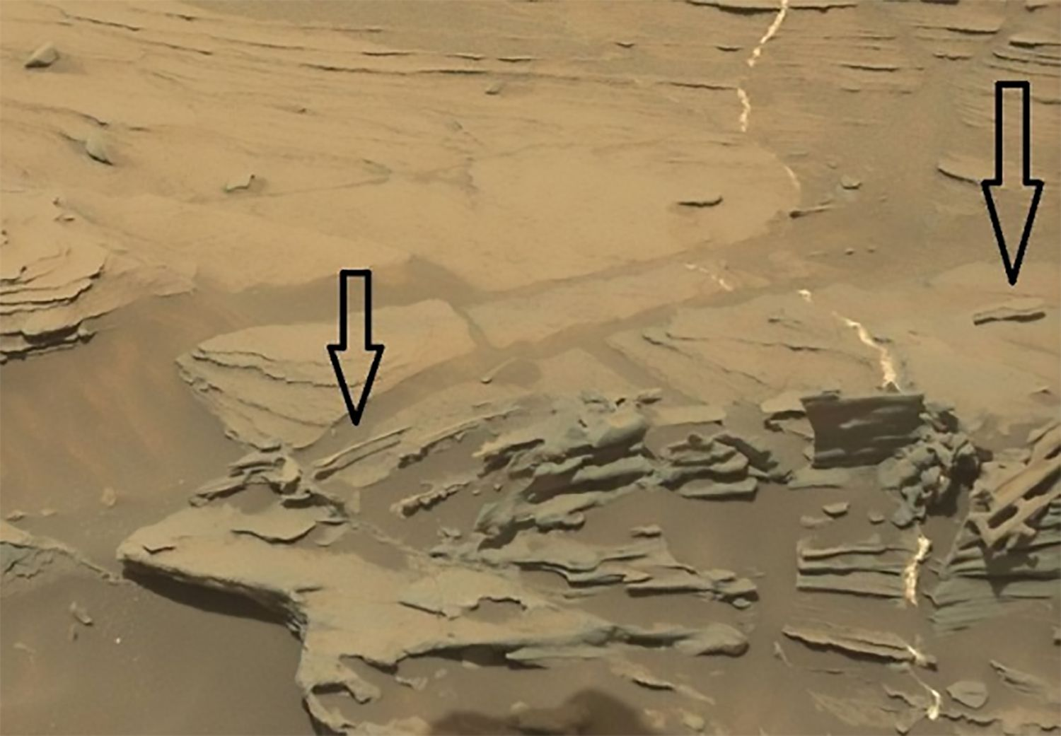 Photographs Of Mysterious Mars Anomalies