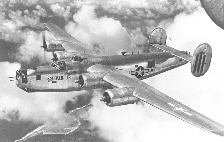 B-24 Liberator in flight