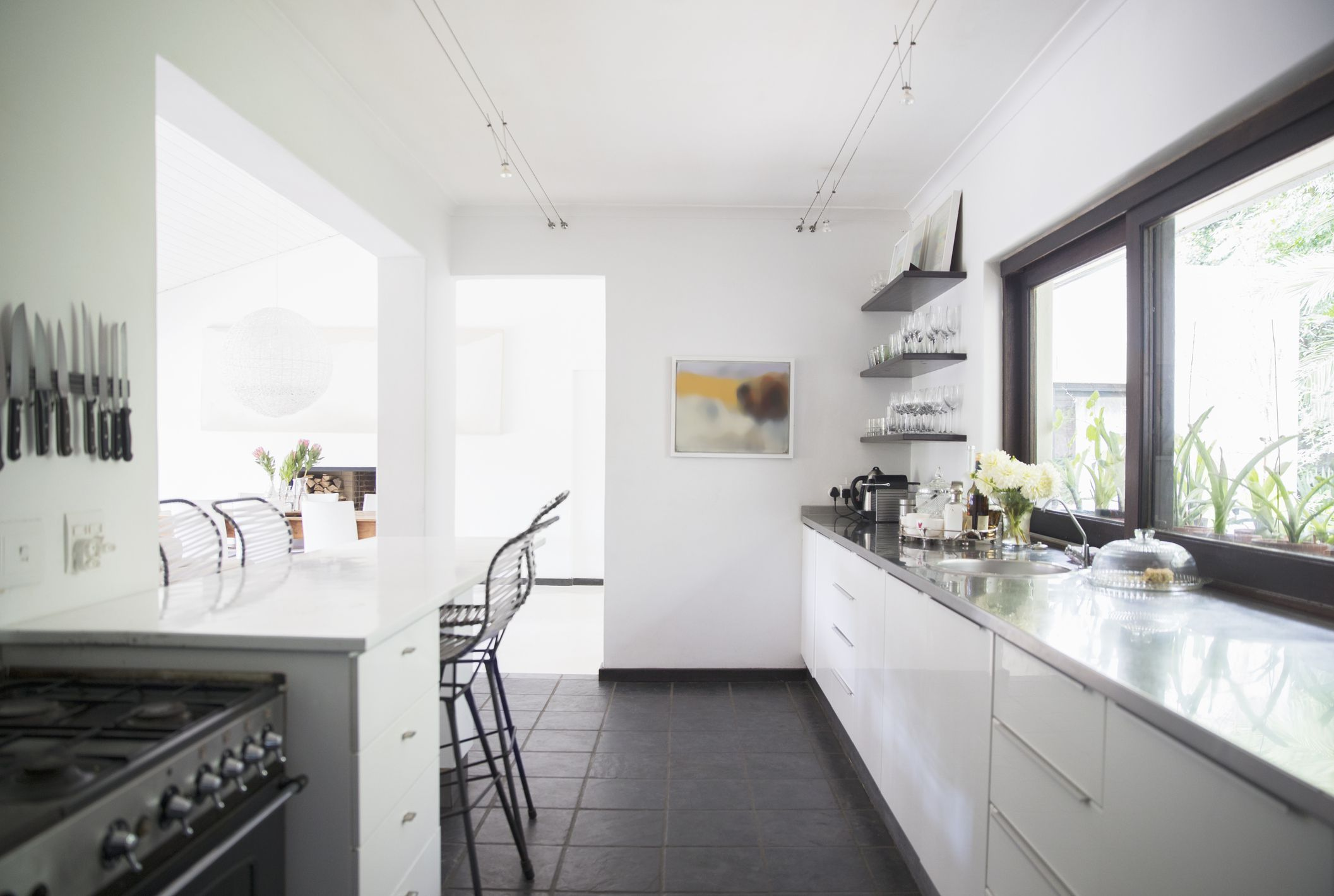 Tips for staging the kitchen for 1 2 wall kitchen ideas