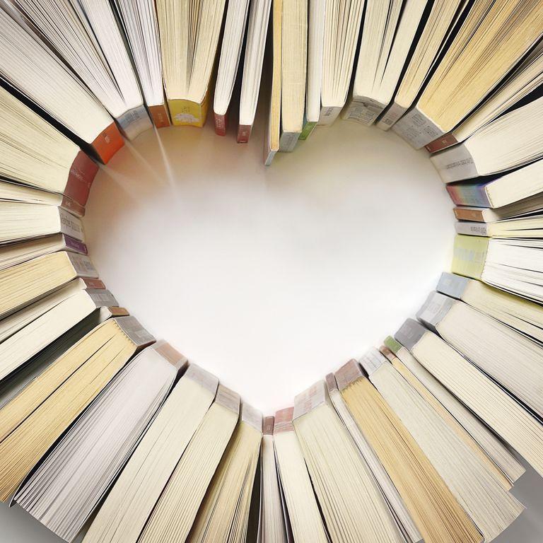 Un corazón de libros