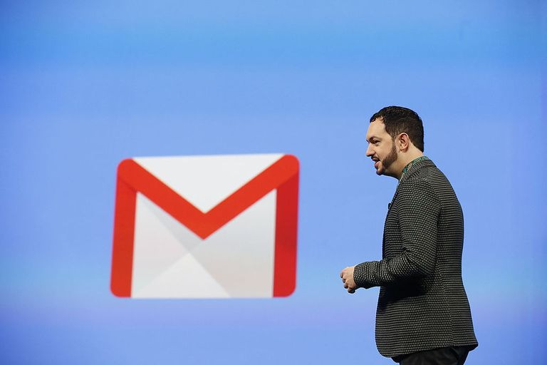 Gmail Logo at a Conference