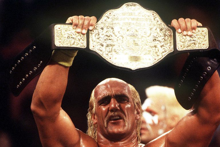 Hulk Hogan won his first WCW Championship in 1994.