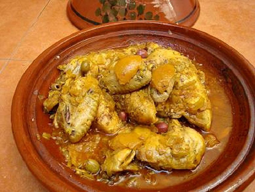 Stove top moroccan chicken with preserved lemon and olives forumfinder Images