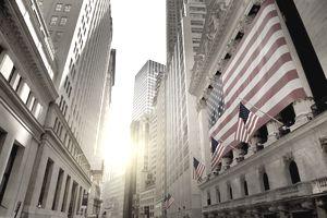 New York stock exchange, wall street, New York, USA