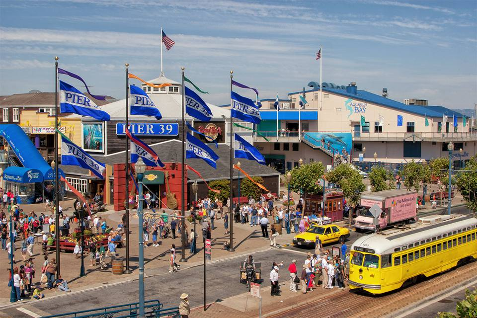 Pier 39 in San Francisco, CA