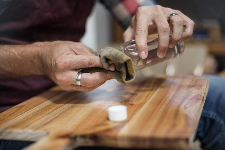 teñir madera