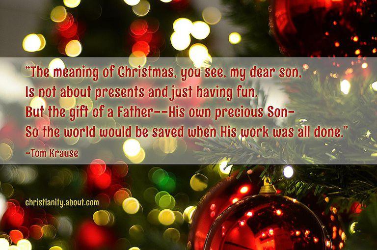 A Christmas Lesson