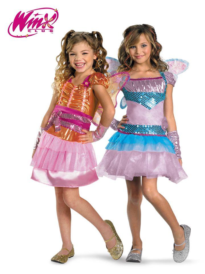 winx club halloween costumes