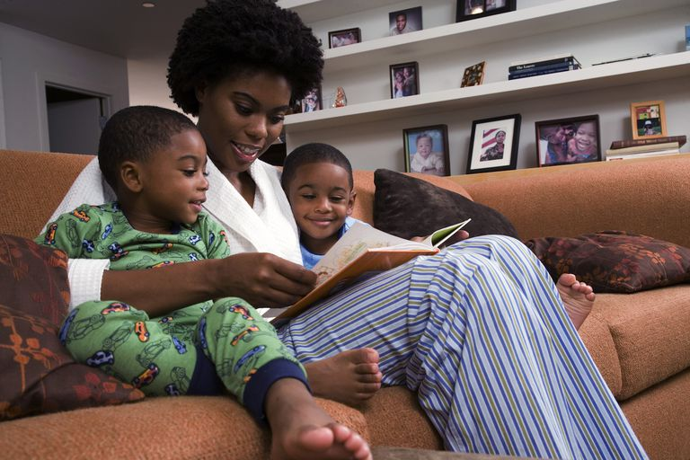 Reading with Twins
