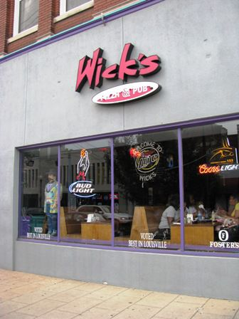 Wick's Pizza in Louisville, KY