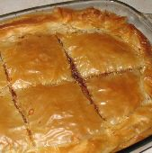 Greek Meat Pie with Phyllo Crust