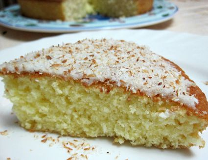 Moroccan Yogurt Cake Meskouta Recipe