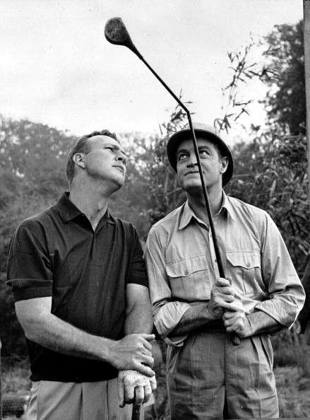 Arnold Palmer Bob Hope move set 1962