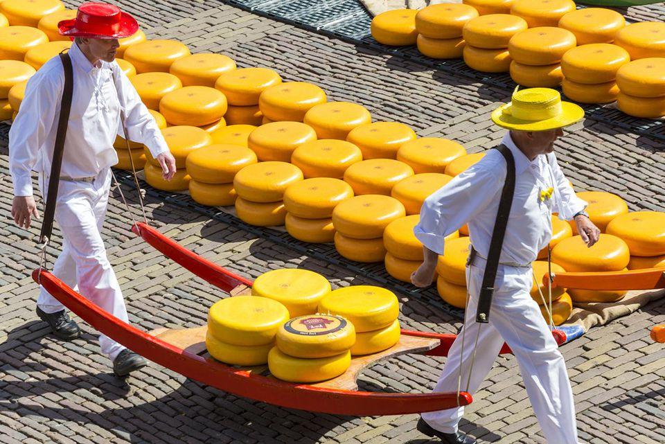 Alkmaar cheese market, Alkmaar, Holland, Netherlands