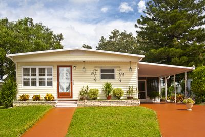 Rent to own vs seller financing a mobile home with car port and grassy garden platinumwayz