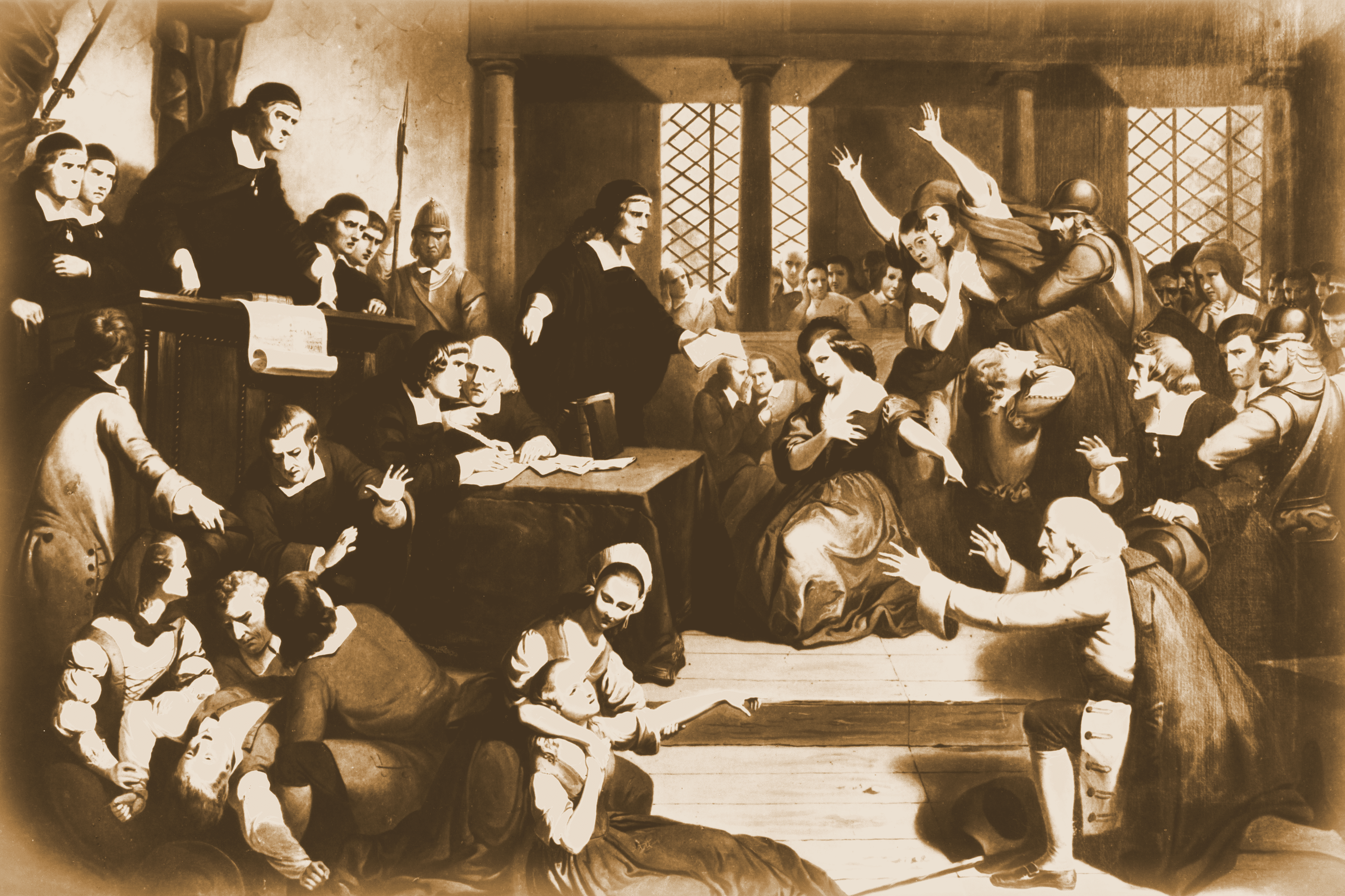 a look at the beginning of the salem witch hysteria of 1692 The devil's in the details: a comprehensive look at the salem witch mania the hysteria spread all over the scholars like the salem witch trials of 1692 and.
