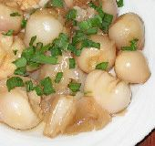 Marinate bulbs - Greek Food Photos