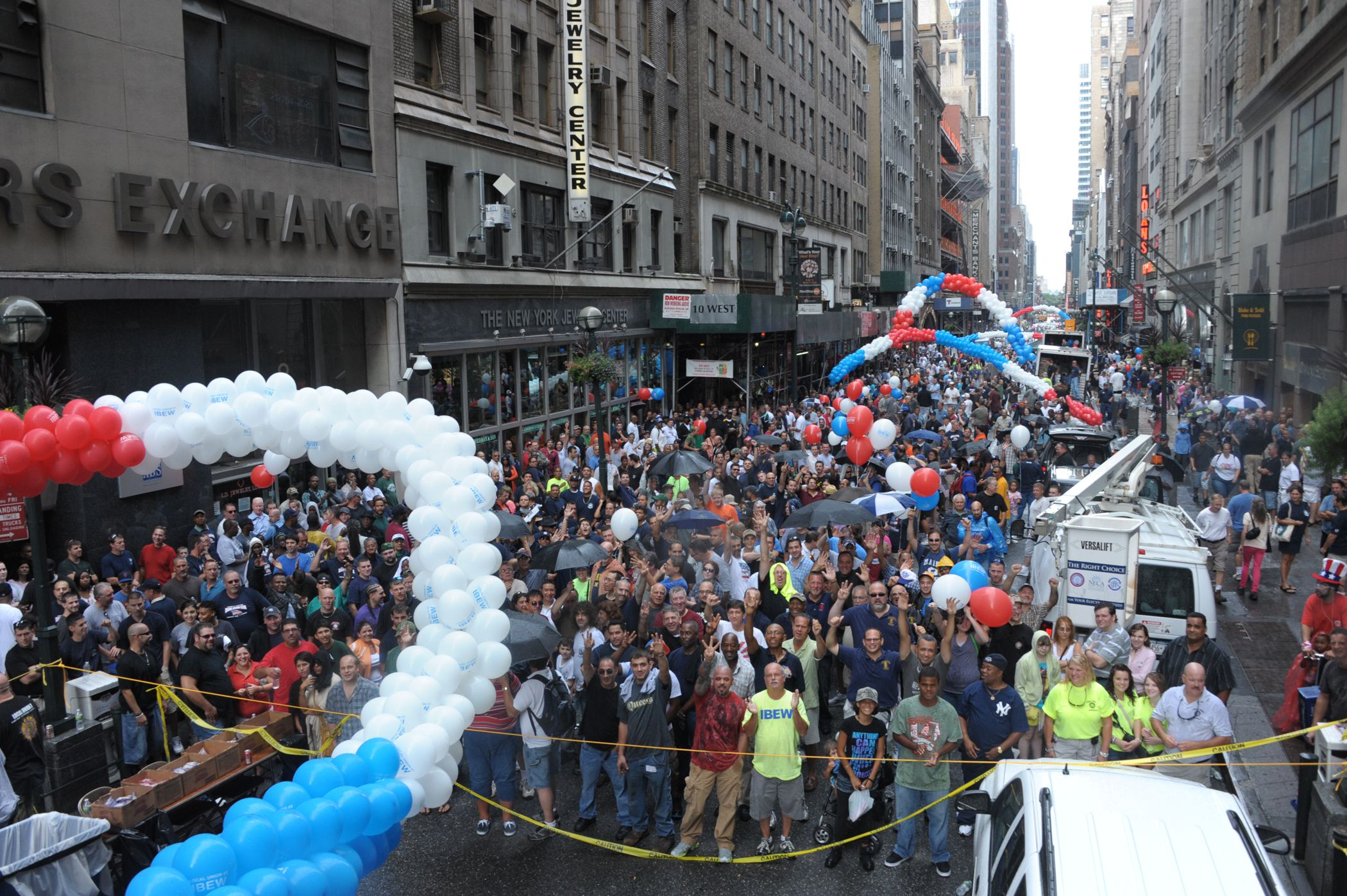 The Labor Day Holiday In New York City