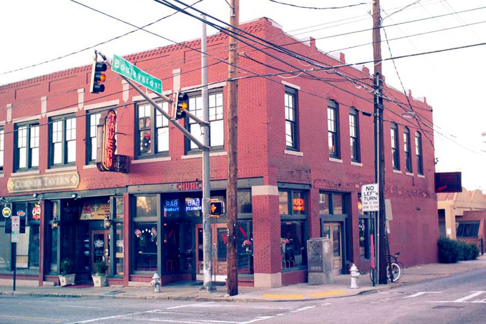 Exterior of Sister Louisa's CHURCH of the Living Room & Ping Pong Emporium