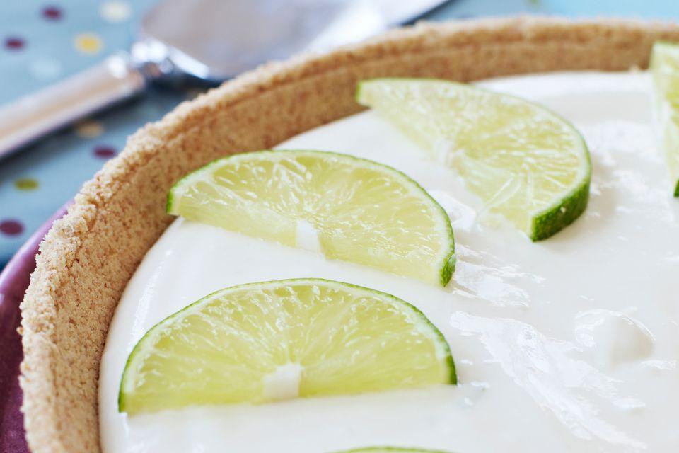 Frozen Gluten Free Key Lime Pie