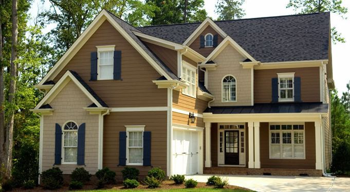 exterior paints with accents