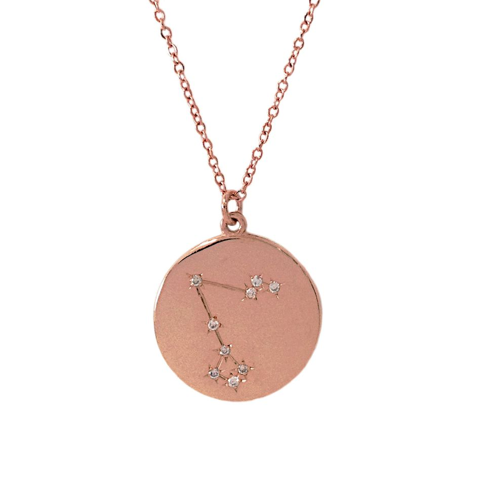 Personalized rose gold jewelry
