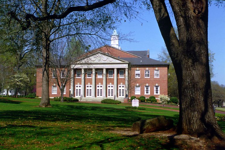 Palmer Hall at the University of Montevallo