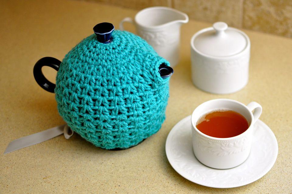 Easy Teapot Cozy Free Pattern