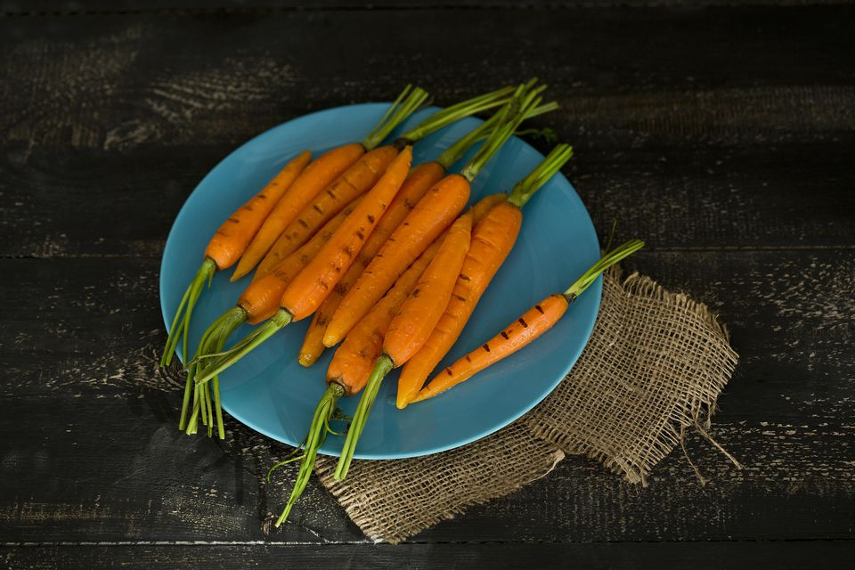 Grilled Glazed Carrots