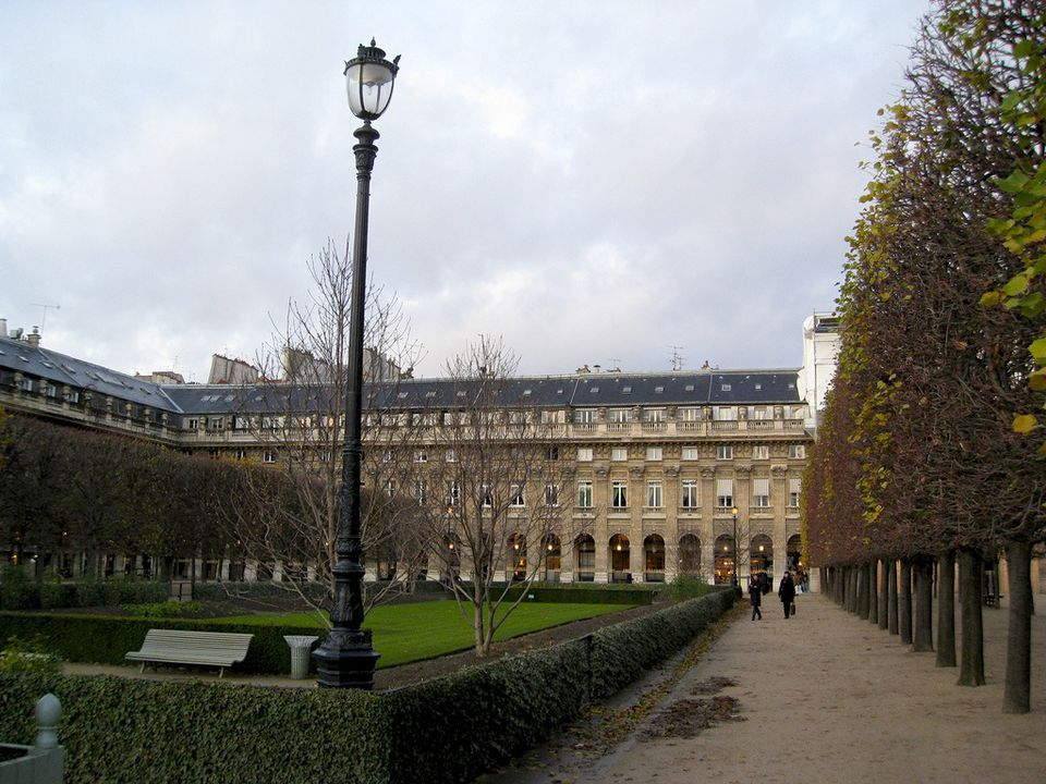 The Palais-Royal is a major attraction in the Louvre-Tuileries district.