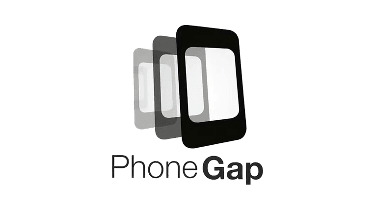 Screenshot of the PhoneGap logo