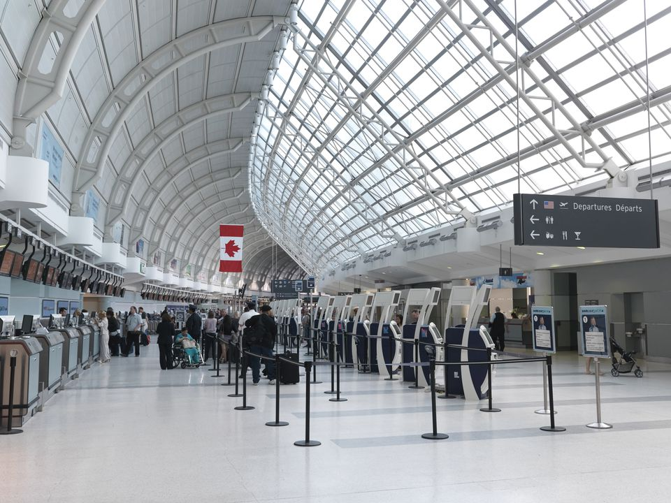 Toronto Pearson international airport departures
