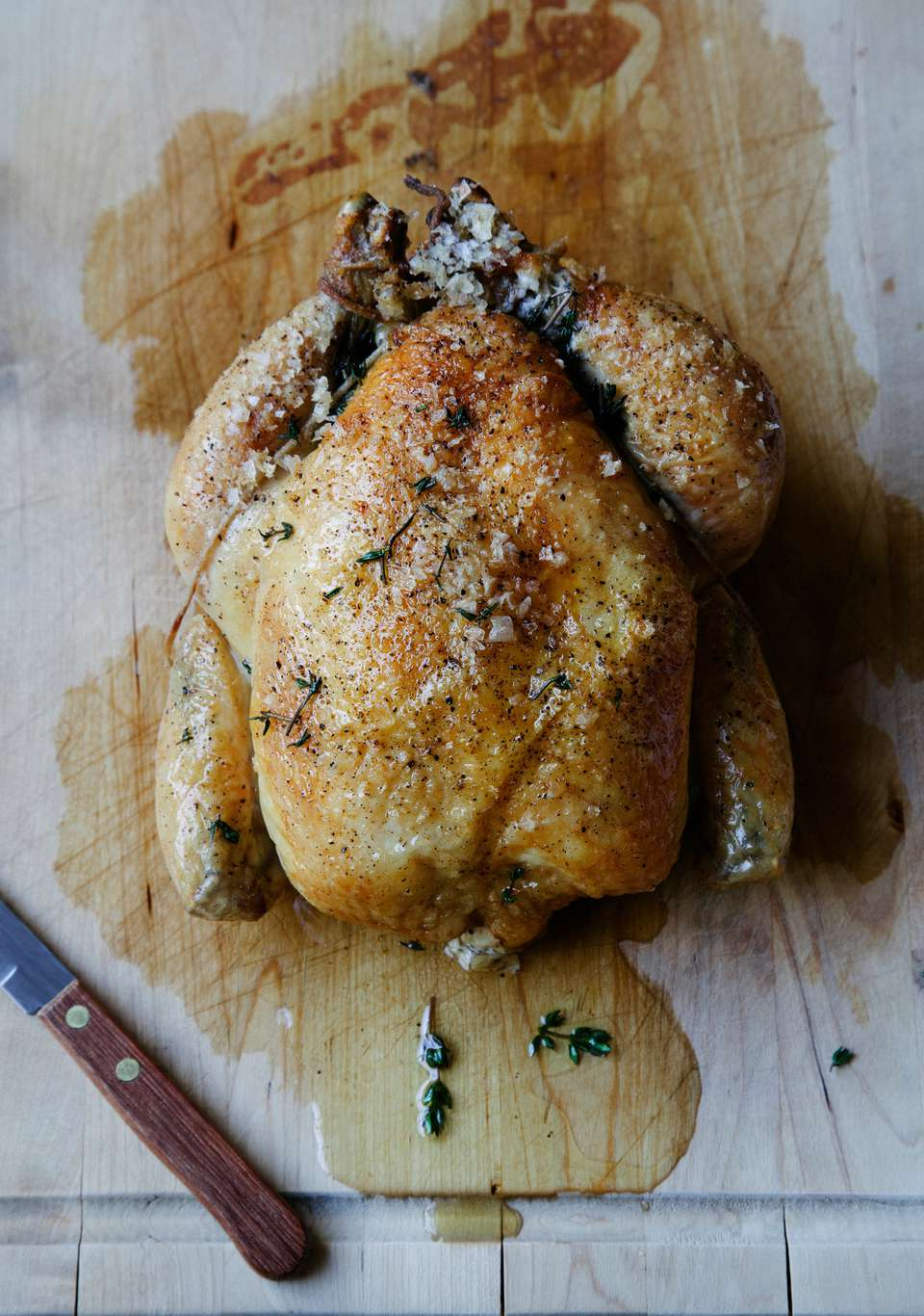 Herb and White Wine Beer Can Chicken