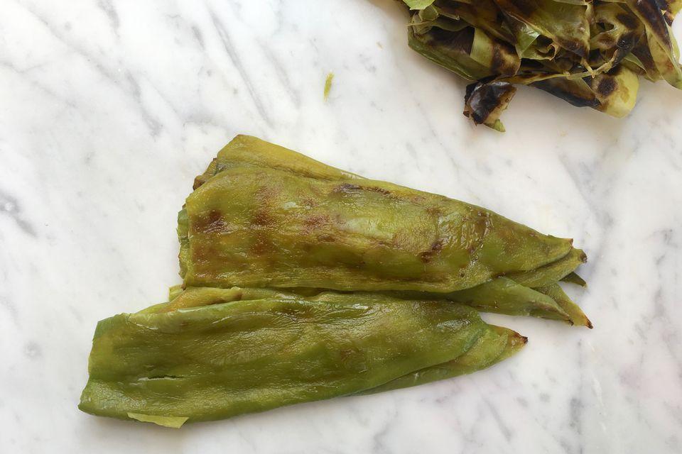 Peeled Roasted Chiles