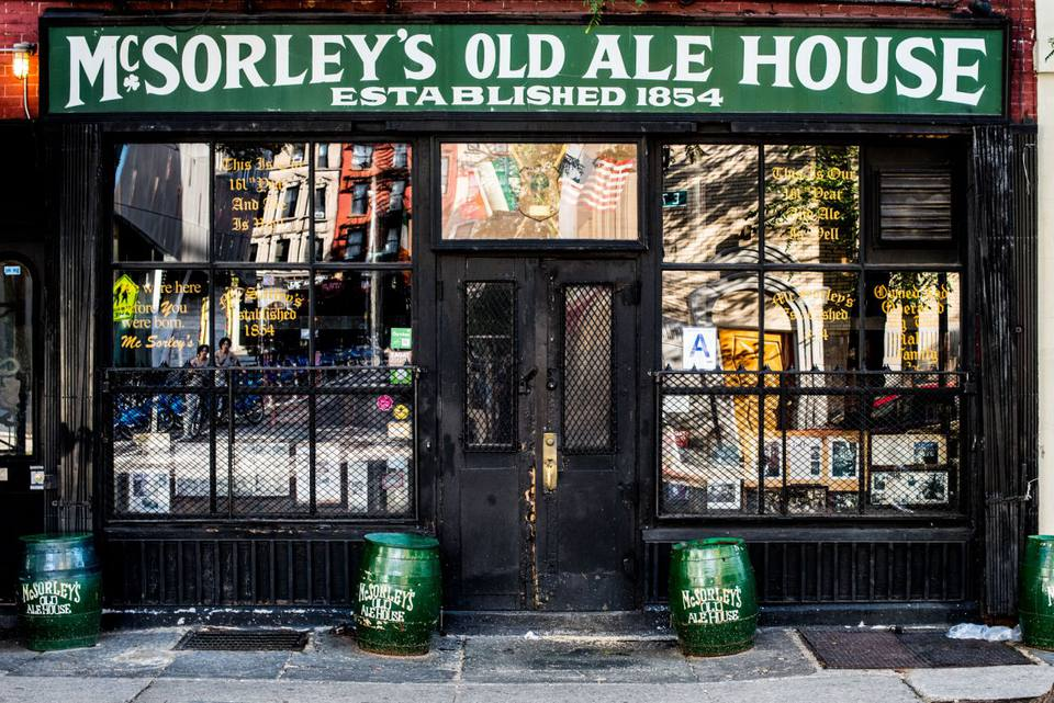 irish pub nyc, McSorley's Old Ale House