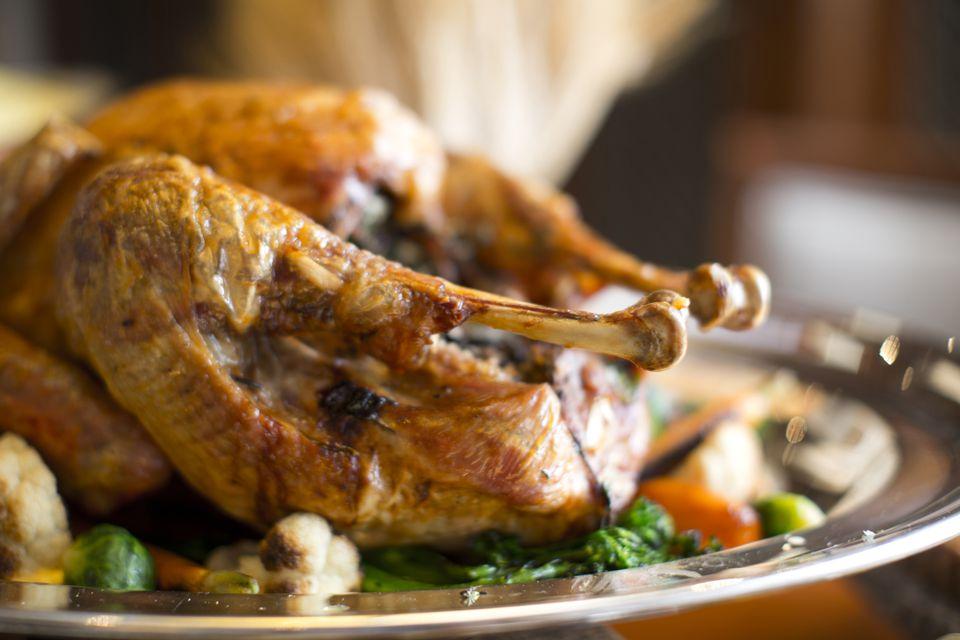 Enjoy Thanksgiving dinner in San Diego.