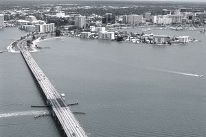 Aerial view of Sarasota, Florida