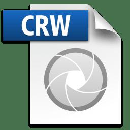 Picture of the CRW file icon