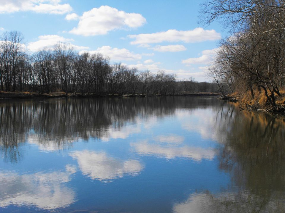 White River in Indiana.