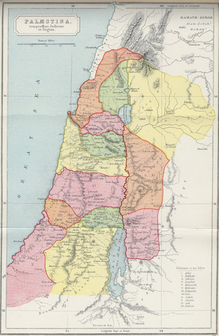 Palestine in the Time of Kings