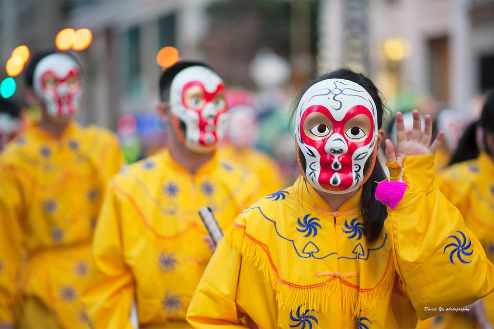 Costumed Characters in the San Francisco Chinese New Year Parade