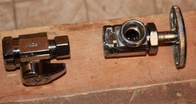 Water stop valves