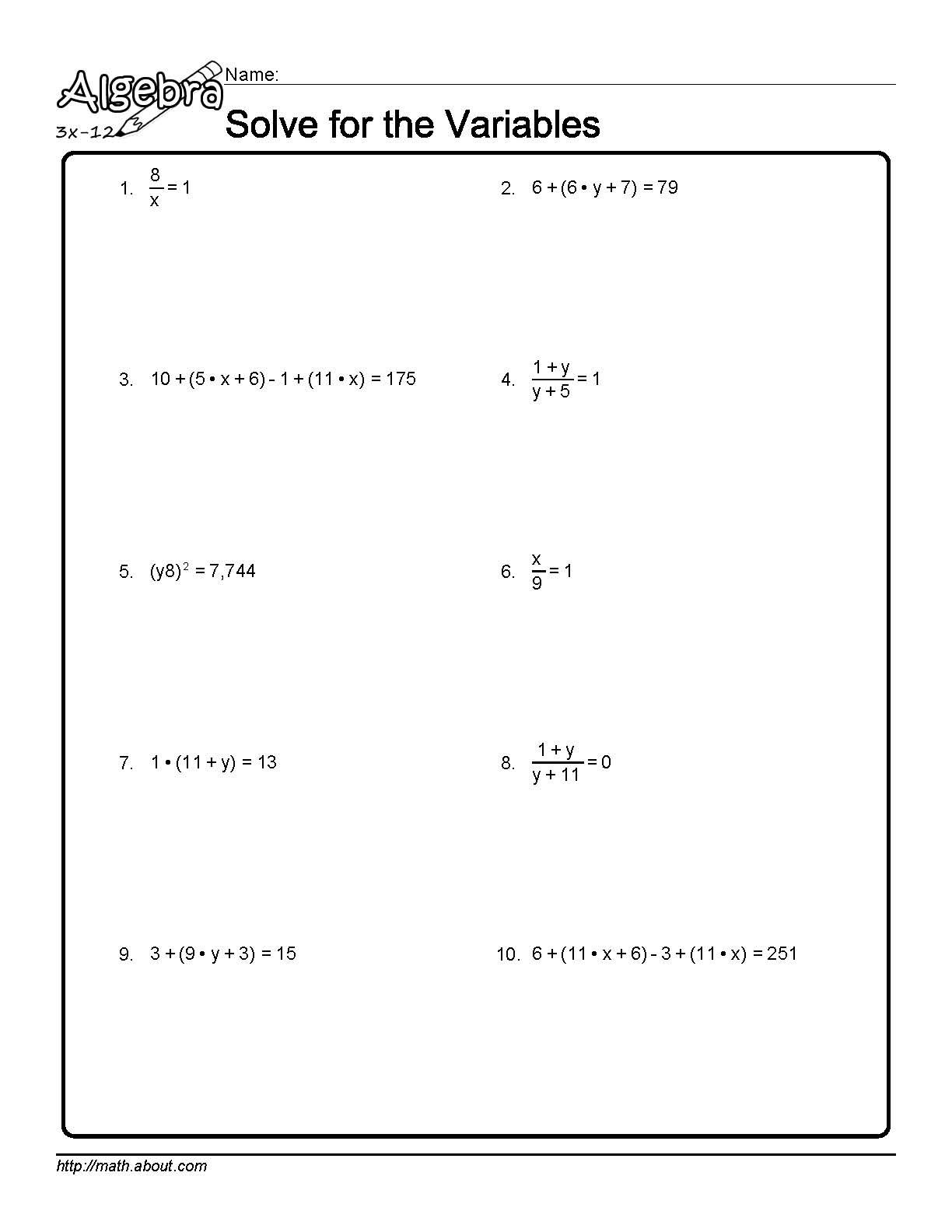 literal equations worksheet answers image collections worksheet multiplication grade. Black Bedroom Furniture Sets. Home Design Ideas