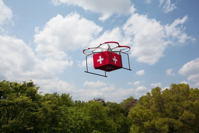 The Potential of Drones in Providing Health Services