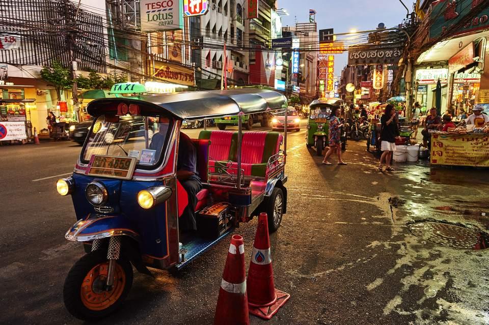 Thai tuk tuk
