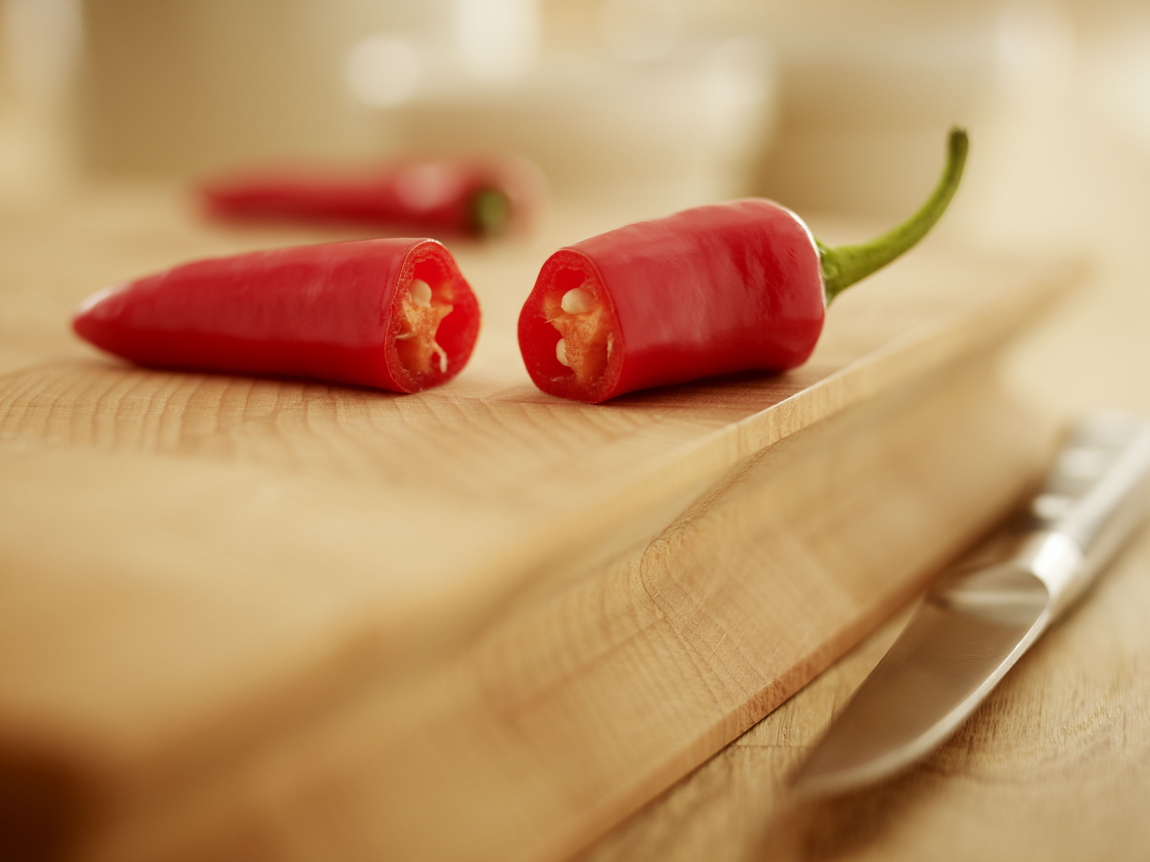 Hot Chile Peppers On The Scoville Scale