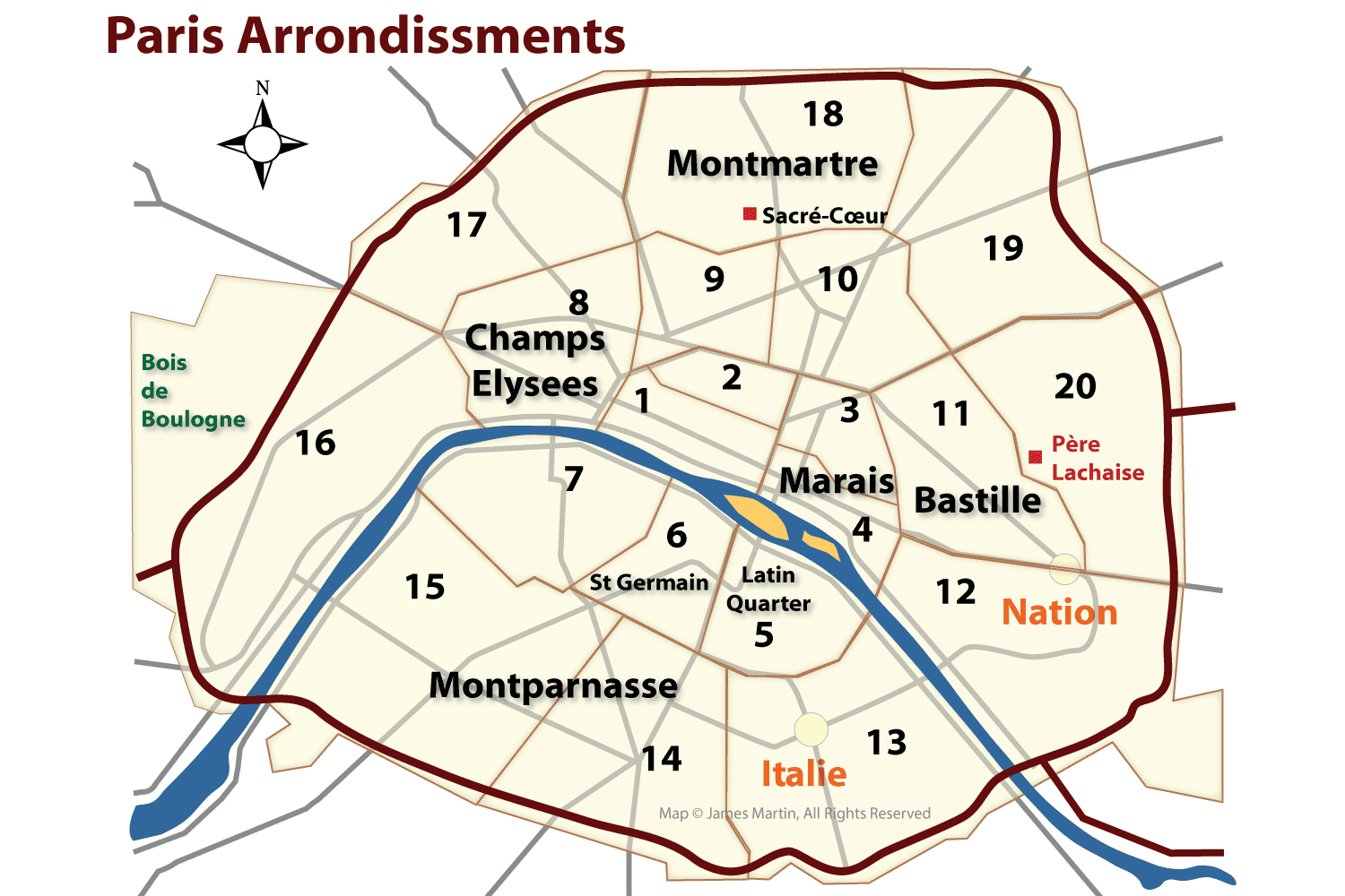 Image result for paris arrondissement